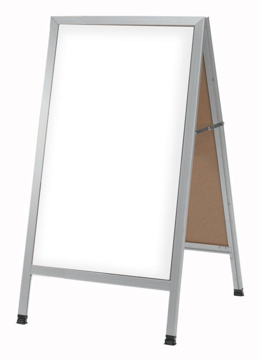 A Frame Menu Board Write on Dry Erase Markerboard