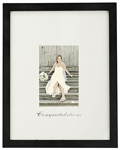 Congratulations Photo Frame Holder For Special Occasions