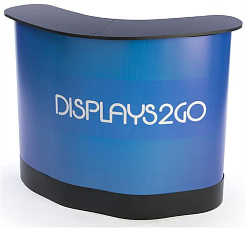 Custom Exhibit Booth with Shipping Case