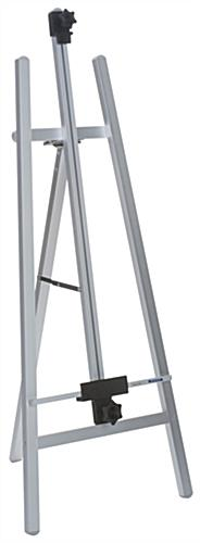 Adjustable Silver Metal Fold-Up Easel