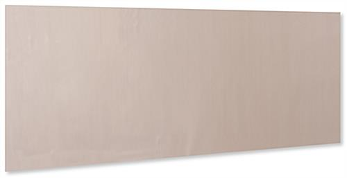 42 inch wide copper antimicrobial protective film with light brown tint