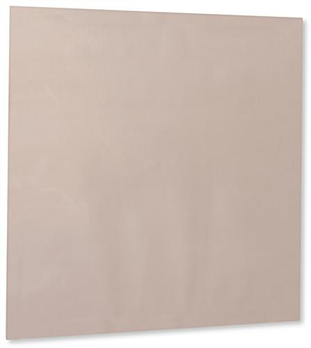 Antimicrobial copper shielding covering with scratch-resistant surface