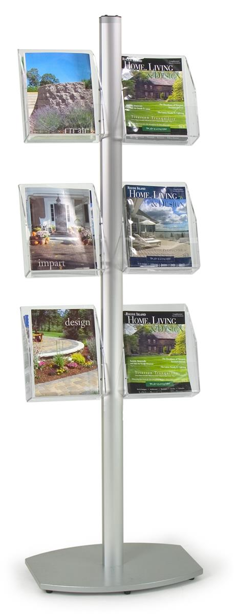 Booths For Sale >> Literature Floor Rack Keep Handouts at Your Customers ...
