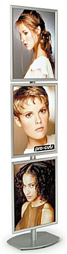 "BRAVA Sign Frame Stand: Three 22"" x 28"" Frames"