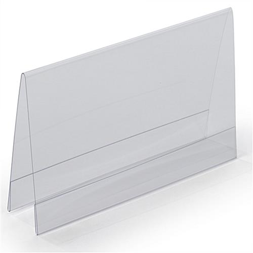 Double Sided Menu Card Holder