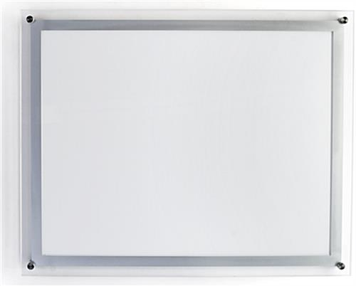 "22"" x 28"" Crystal Lightbox for Horizontal Layout"