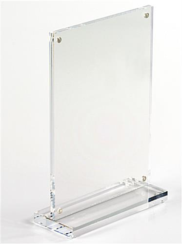 Tabletop Acrylic Photo Frames Display 4 Quot X 6 Quot Pictures Amp Menus