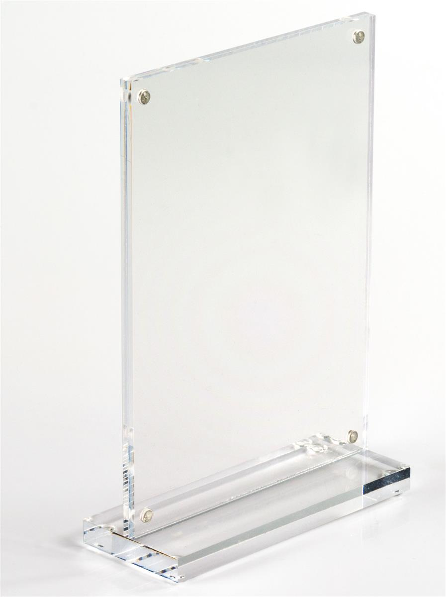 Tabletop Acrylic Photo Frames Display 4\