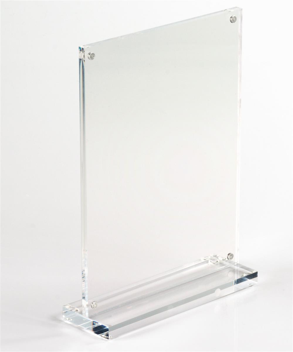 Stand Up Sign Holders For X Photos Or Ads - Table top sign holders