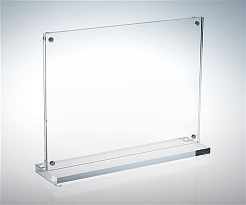stand up picture frame