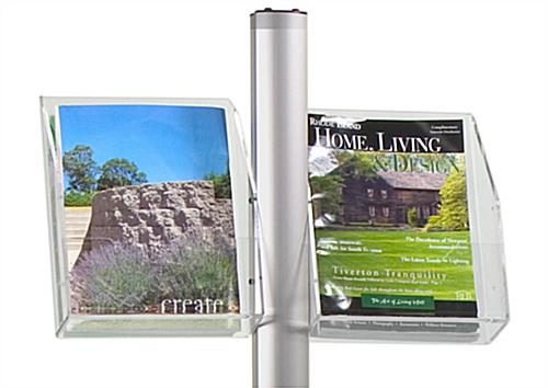 "8.5"" x 11"" Literature Pocket for Banner Poles"