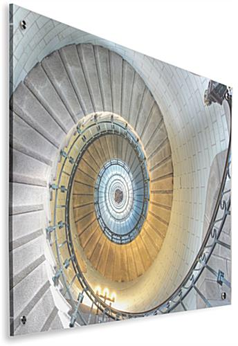 Spiral Staircase Acrylic Wall Art with Second Surface Printing