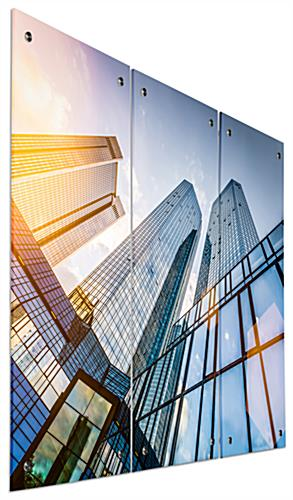 Skyscraper Acrylic Photo Panels, Weighs 8.5 lbs