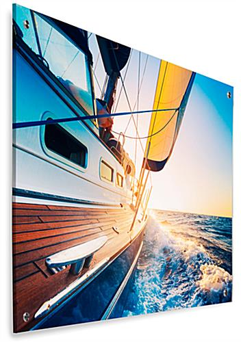 Frameless Sailboat Acrylic Photo Print