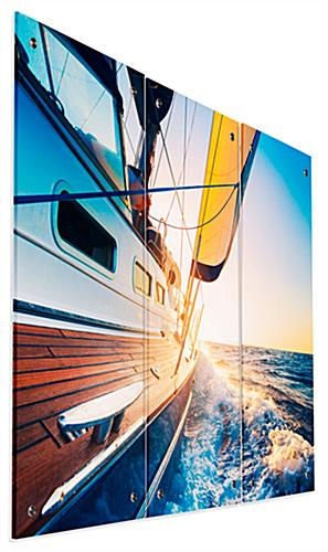 Modern Sailboat Triptych