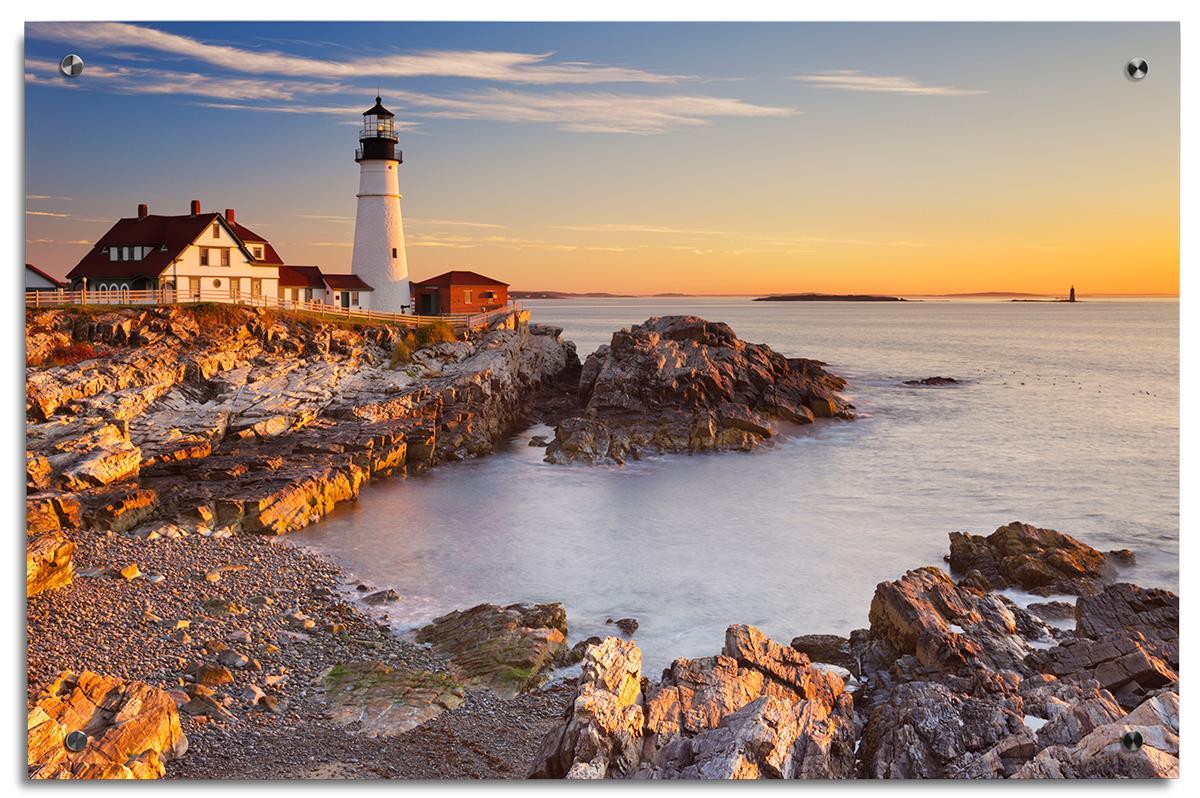 Lighthouse Acrylic Photo Print Nautical Wall Art