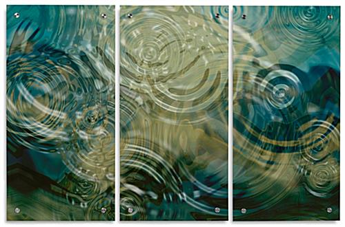 Acrylic Panel Art Multi Piece Set