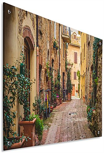 Italian Photography Print on Acrylic with Full Color Artwork
