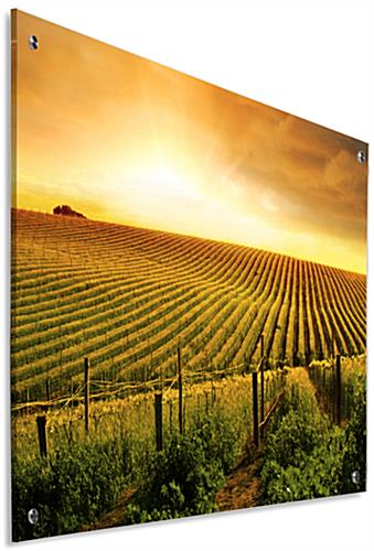 Landscape Photography Wall Art with Second Surface Application
