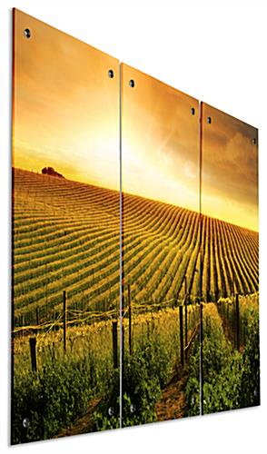 "30"" Tall Triptych Landscape Photography"