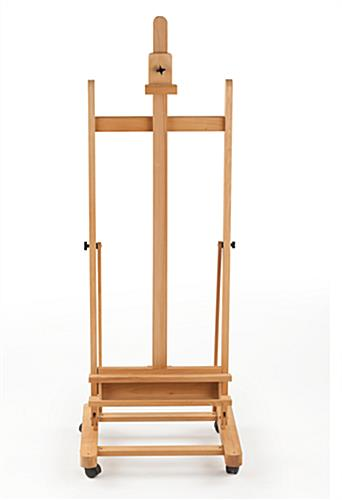 Wood Canvas Easel