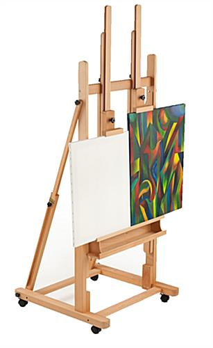 Twin Canvas Easel