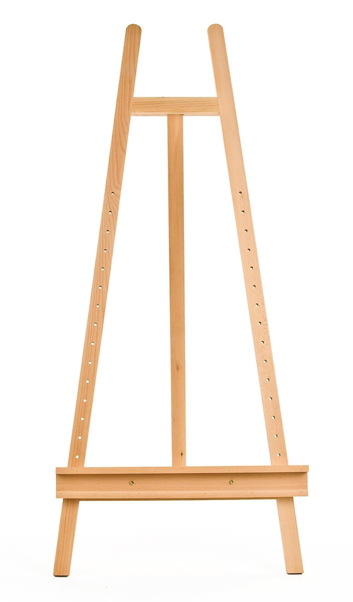 Lyre Easel | Adjustable Wooden Canvas | For Artists' Studios