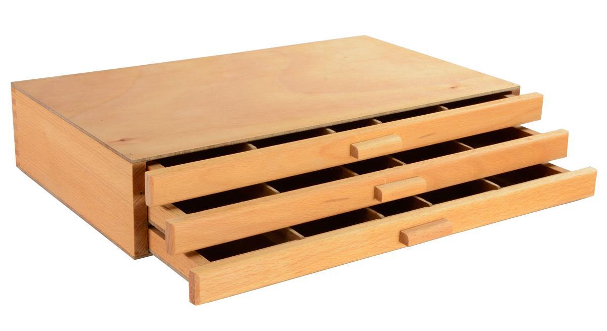 Artist Wooden Paint Box