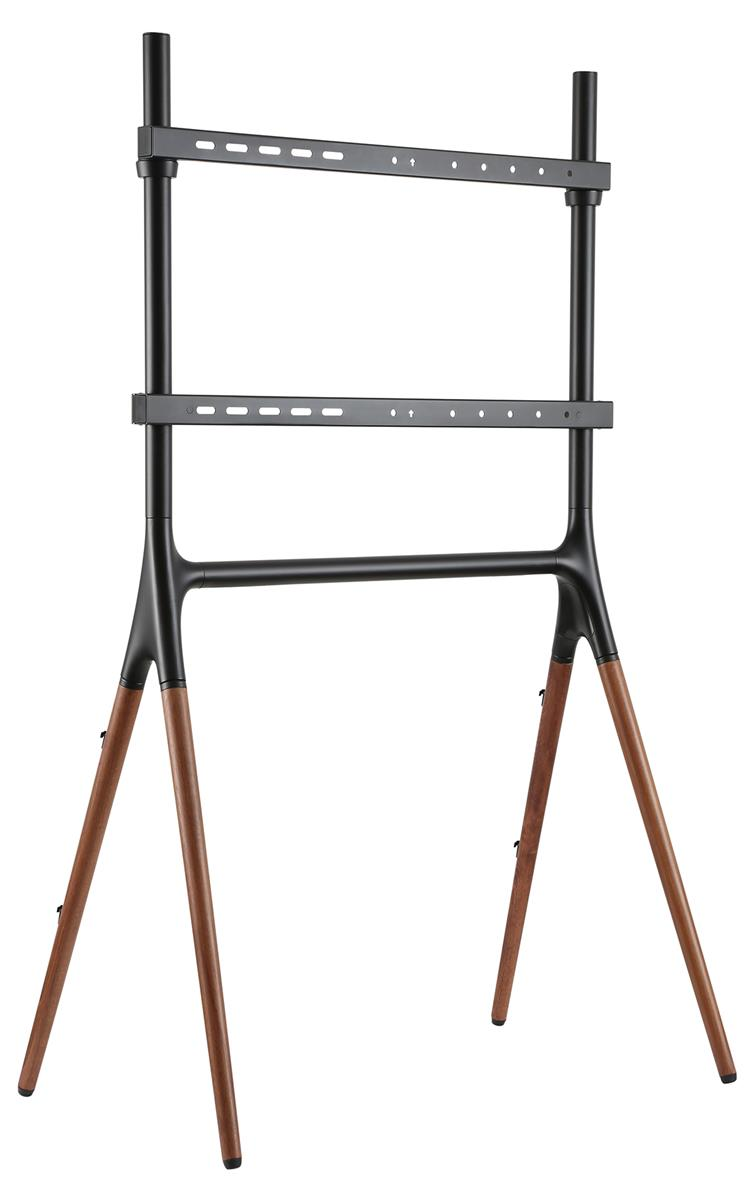 Modern Wood Tv Stand Showcase Design: Minimalist TV Sawhorse Stand