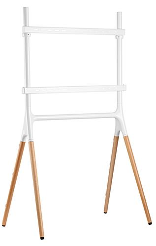 4 Leg modern sawhorse-style TV display stand