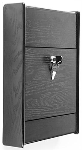 Wall Mount Suggestion Box Locking Door