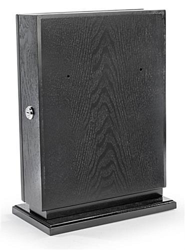 Black Wall Mounted Ballot Box Includes Pen Lock Amp Sign