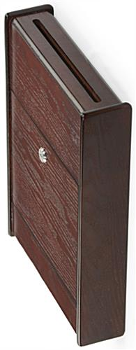 Wooden Suggestion Box Wall Mounting