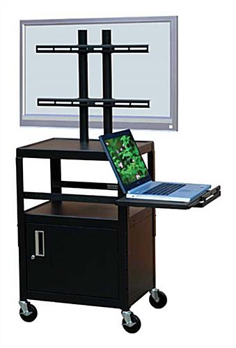 This Rolling Av Cart Can Be Used As A Podium In A Church Hall This