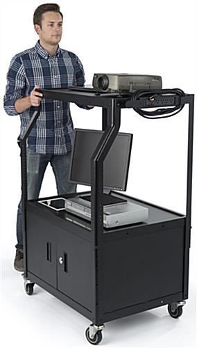 Mobile Video Cart