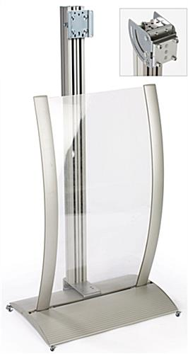 Plasma TV Stand & Curved Poster Frame