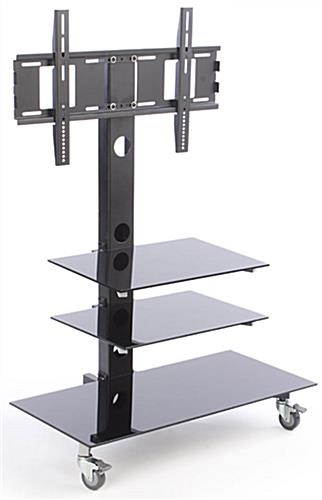 tv stand with wheels TV Stand with Mount for 65 Inch TVs | For LCD Screens tv stand with wheels