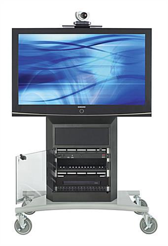 Audio Visual Carts W Built In Camera Mount Amp 8ru Storage