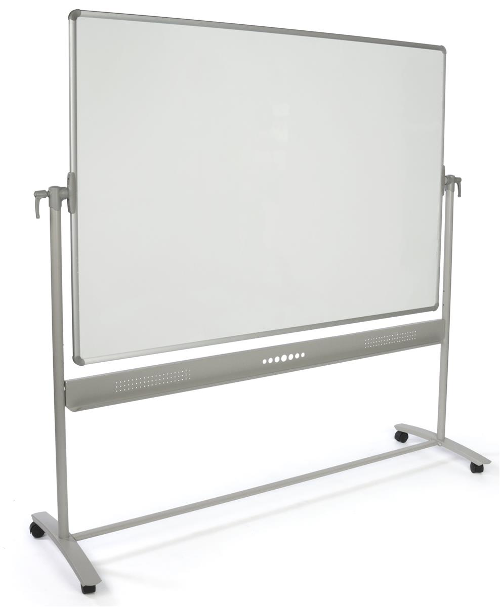 reversible whiteboard locking handles for rotation pen tray