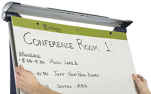 Height Adjustable Dry-Erase Board with Adaptable Pad Holders