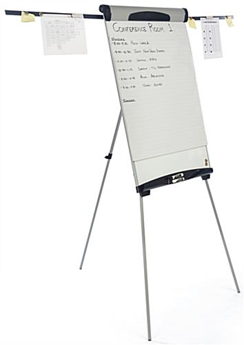 Height Adjustable Dry-Erase Board with Extending Arms