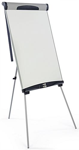 Height Adjustable Dry-Erase Board with Blue Accents