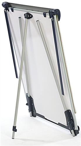 Height Adjustable Dry-Erase Board & Notepad Retainer