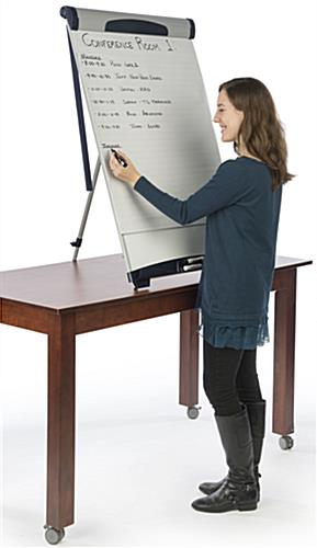 Countertop Height Adjustable Dry-Erase Board