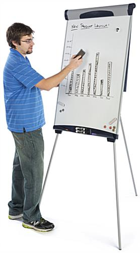 Floor Standing Height Adjustable Dry-Erase Board