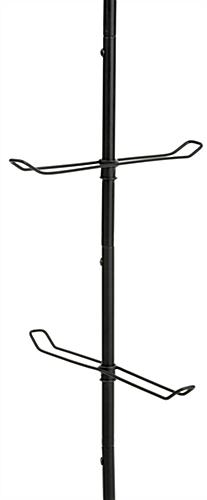 standing purse rack with rotating hooks standing purse rack with rotating hooks