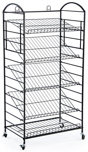 5 Tier Bakers Rack Removable Shelves Lay Flat Or Angled