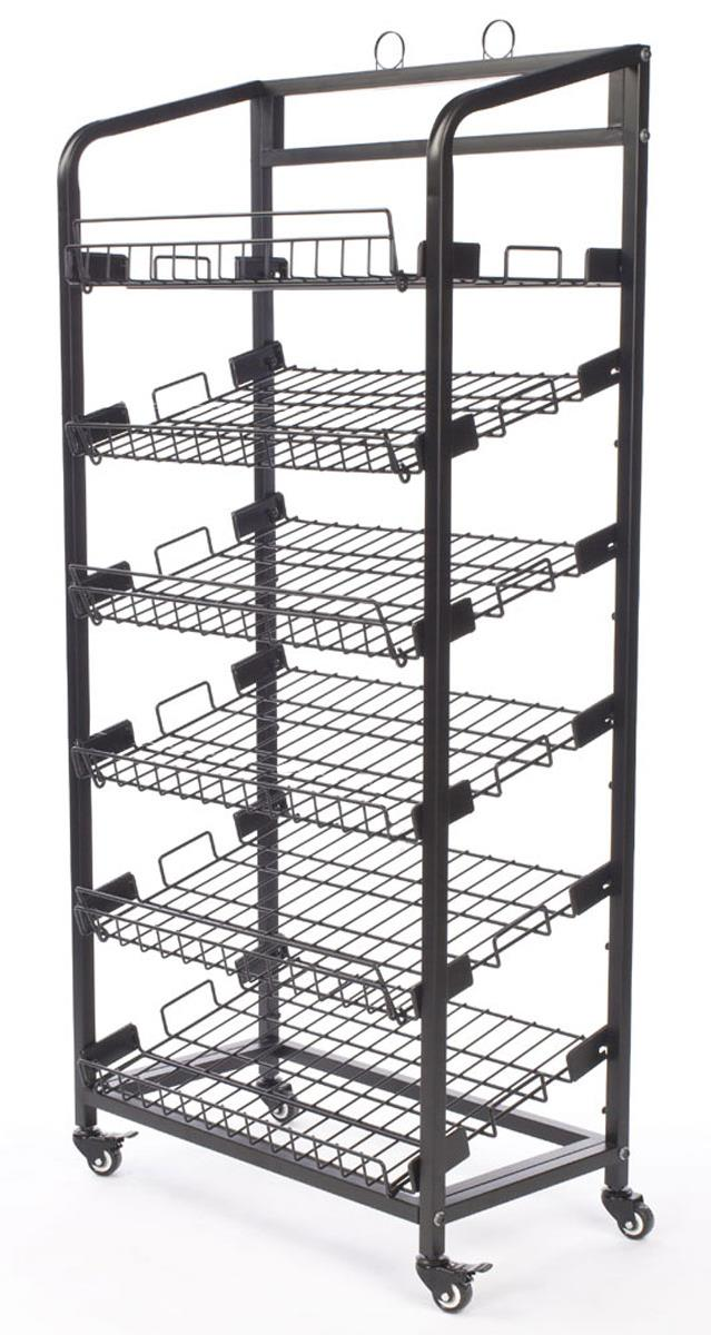 Bakers Rack Includes 6 Removable Shelves