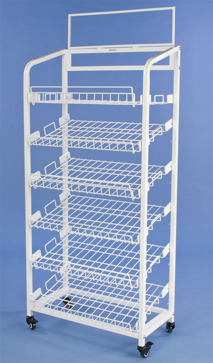 Wire storage racks with wheels | Compare Prices at Nextag