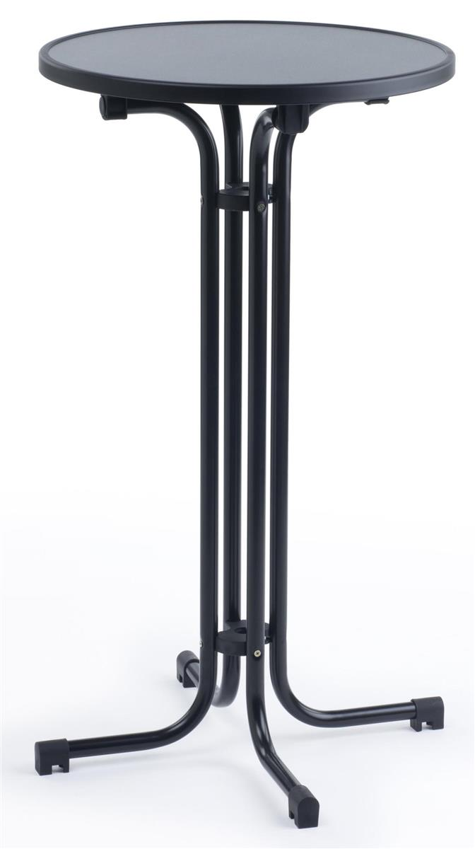 Folding Highboy Tail Bar Table Is A Versatile Pub Height Fixture